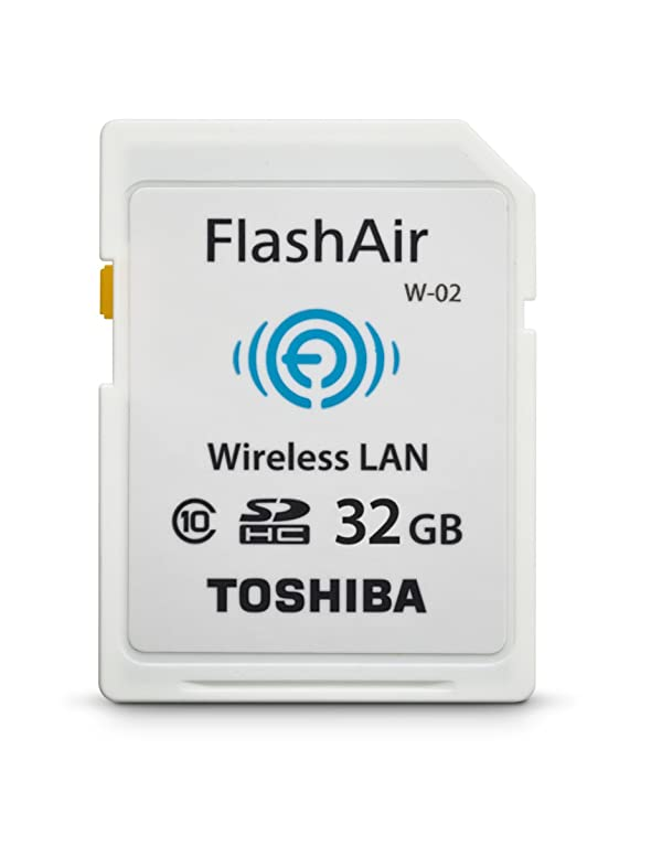 Toshiba Flash Air II Wireless 32GB SDHC Memory Card (PFW032U-1BCW) (Tamaño: 32GB)