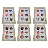 6 Pack / 36 Kids stickers High Quality Mosquito Repellent Smiley Patch Stickers for home, camping, outdoors. Non-Toxic Deet-Free Patches for Child or Adult