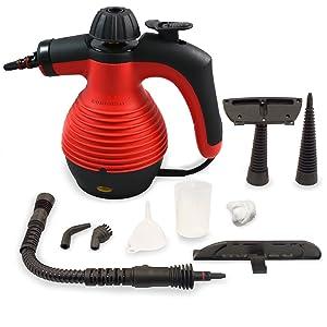Comforday スチームクリーナー セーフティロック付き【高圧蒸気で簡単に掃除ができる・セーフティロック付きで安全】約130℃の高圧蒸気