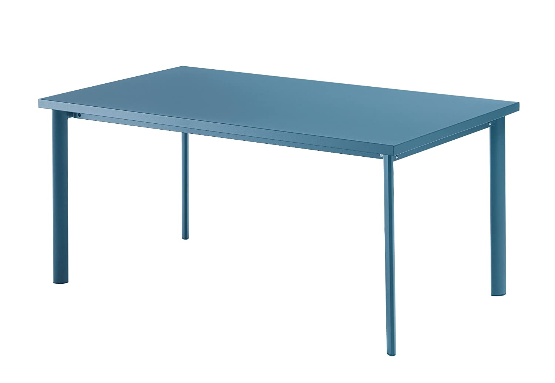 Emu 303076100 Star Tisch 307, 90 x 160 cm, pulverbeschichteter Stahl, petrolblau kaufen