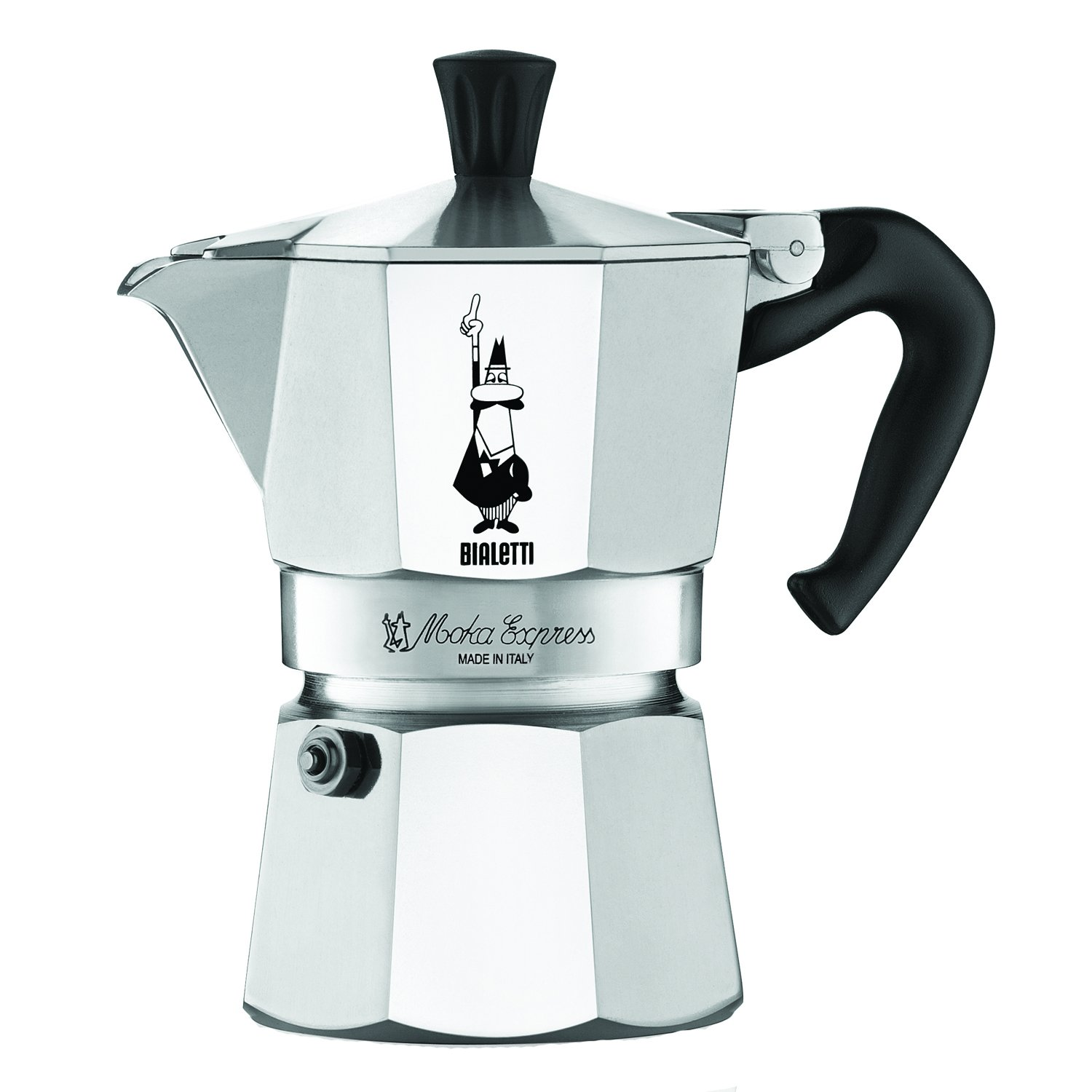 Stovetop Coffee Maker Home : Brand New Bialetti 6799 Moka Express 3 Cup Stovetop Espresso Maker by Bialetti eBay