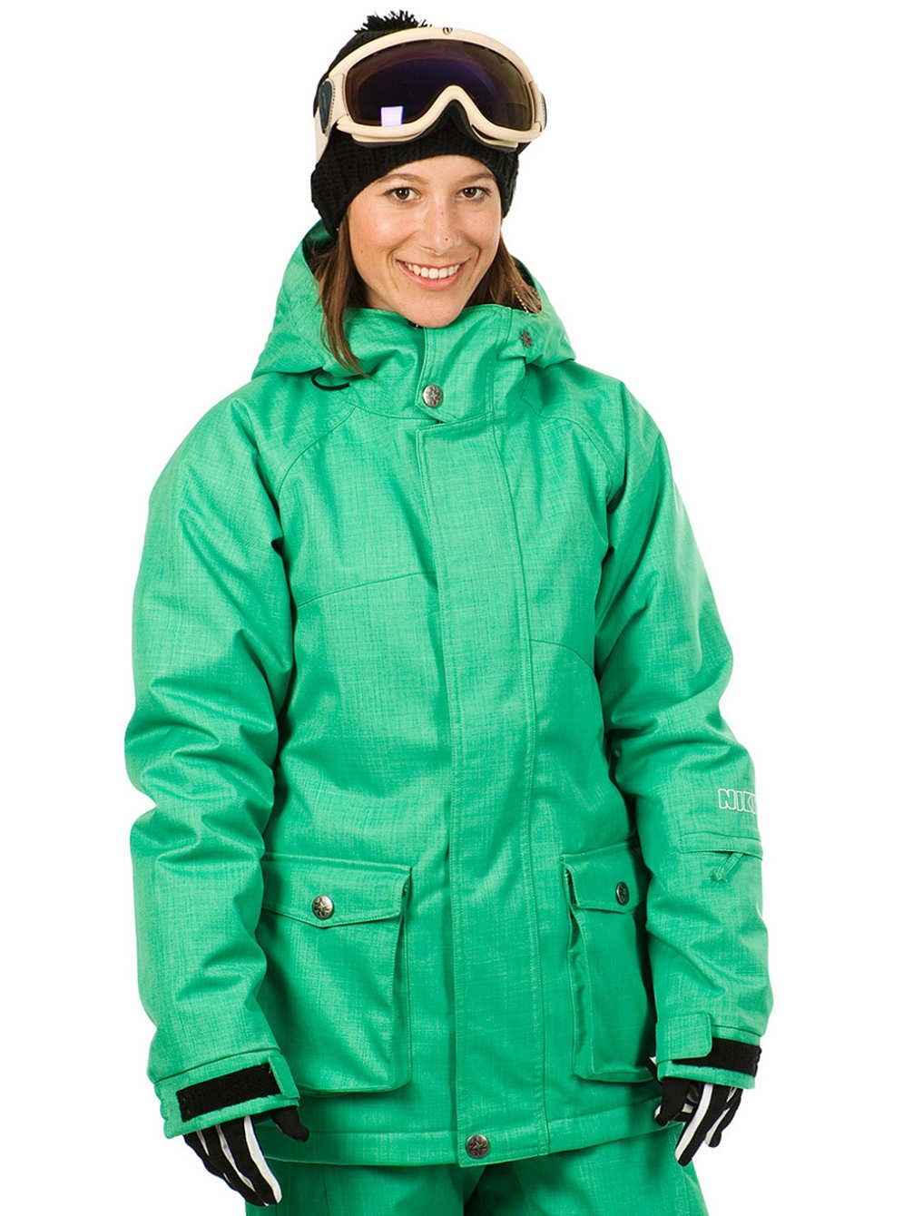 NIKITA Damen Snowboardjacke günstig online kaufen