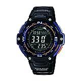 Casio Sgw-100-2ber Twin Sensor: Digital Compass/thermometer (Color: black)