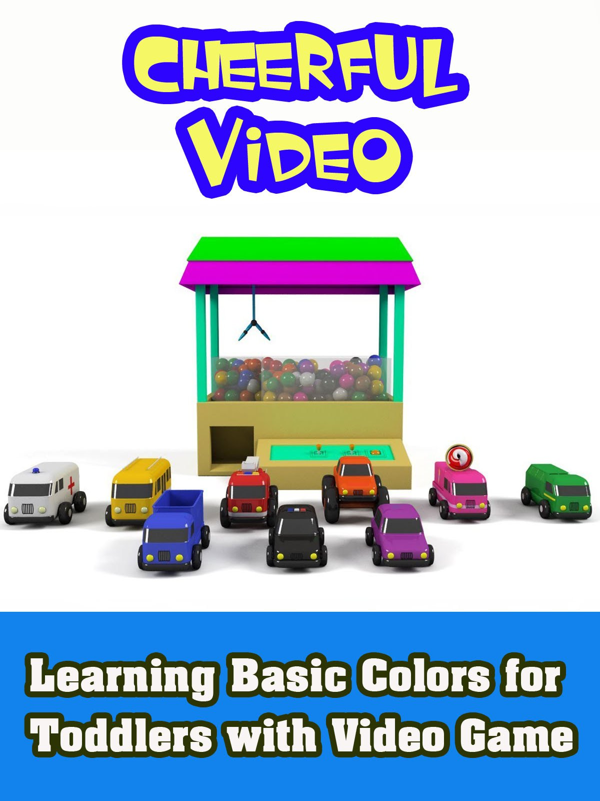 Learning Basic Colors for Toddlers with Video Game on Amazon Prime Video UK