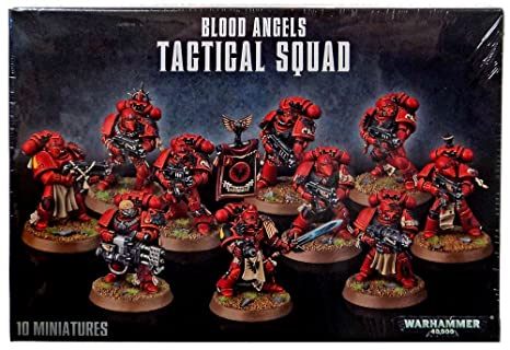 Blood Angels Tactical Squad 41-12 - Warhammer 40,000