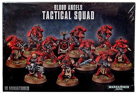 Blood Angels Tactical Squad 41-12 - Warhammer 40,000