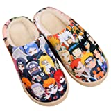 Gumstyle Naruto Style Anti-slip House Slippers Winter Plush Warm Indoor Shoes