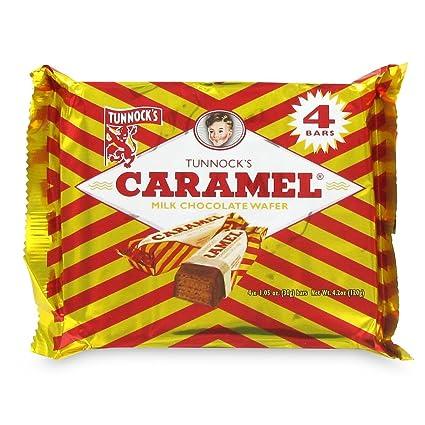 Caramel Wafer Bars Tunnocks Caramel Wafers 12