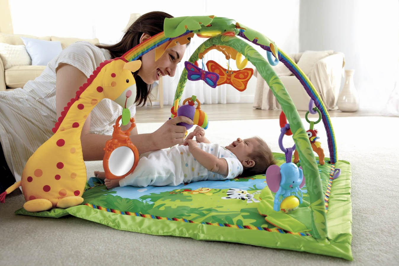 Tapete Safari Fisher Price : Tapis D ?veil Fisher Price Musical Pictures to pin on Pinterest