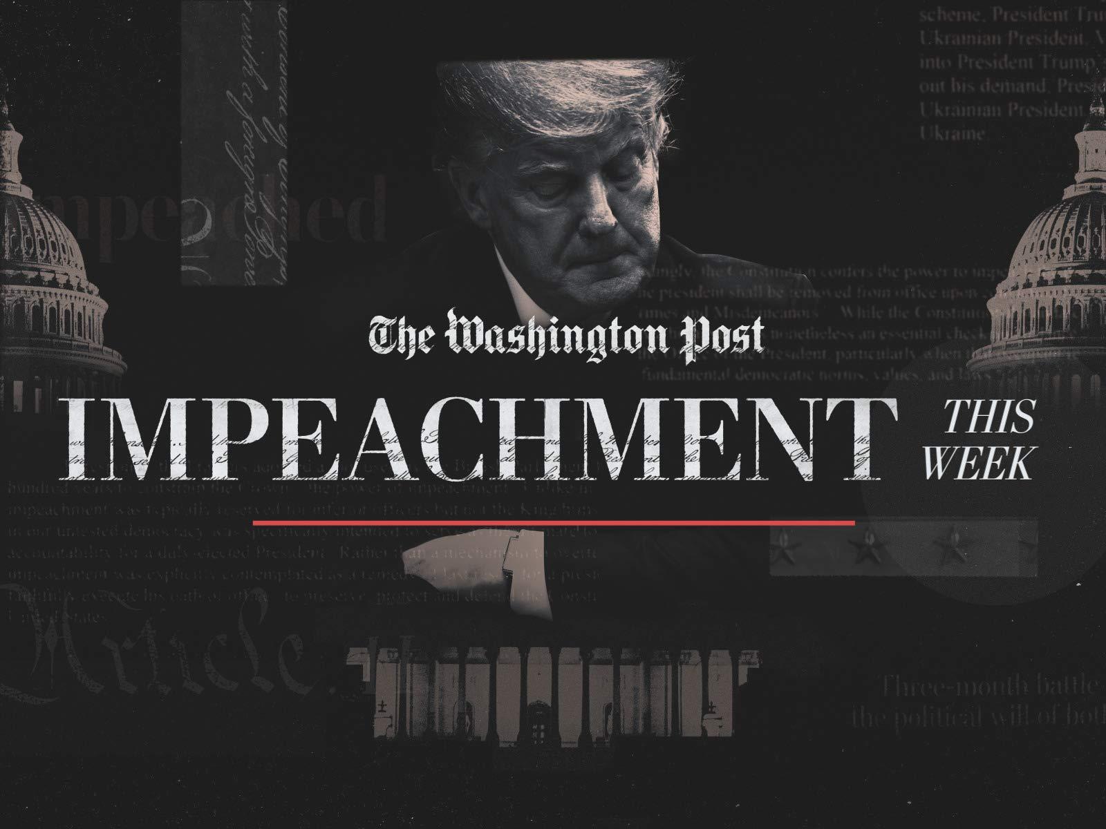 The Impeachment of Donald Trump on Amazon Prime Video UK