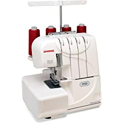 Janome 7933 Thread with Differential Feed Serger - White