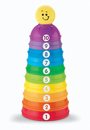 Amazon - Fisher-Price Brilliant Basics Stack & Roll Cups - $7.92