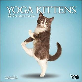 Yoga Kittens 2015 Mini 7x7 (Multilingual Edition)