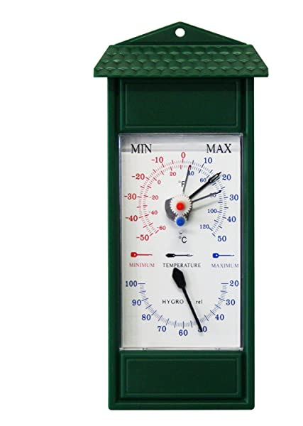 Koch 86600 minimum maximum thermometer with hygrometer for Koch thermometer