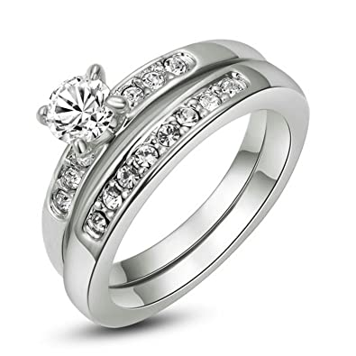 nickel free jewels wedding uk steel bands for rings ring jewelry stainless color male lead