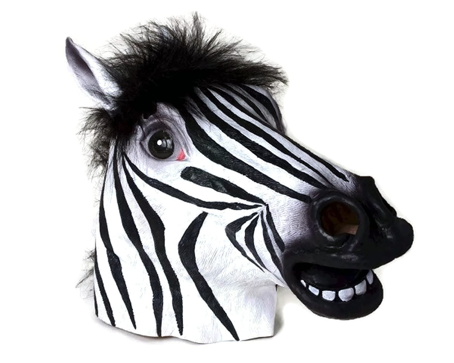 Zebra Mask : Latex Animal Mask op7 6av3 607 1jc20 0ax1 button mask