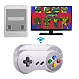 Xinguo Family Classic Game Consoles, Wireless Controller,Childhood Retro Game Console Built-in 557 TV Video Games, with Dual Wireless Controllers. (JP02)