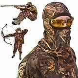 DecoyPro Camo Face Mask – Camo Face Mask Hunting Mask – Turkey Hunting Face Mask – Bow Hunting Face Mask Mesh - Duck Hunting Face Mask – Camouflage Face Mask Hunting