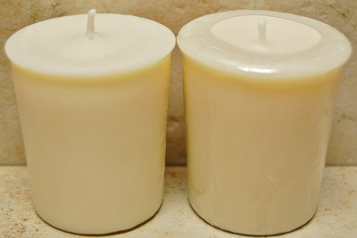 6 Pack 2 oz Scented Soy Votives - White Tea & Berry