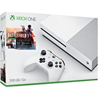 Current Special Offers on Microsoft Xbox One S 500GB Console Battlefield 1 Bundle