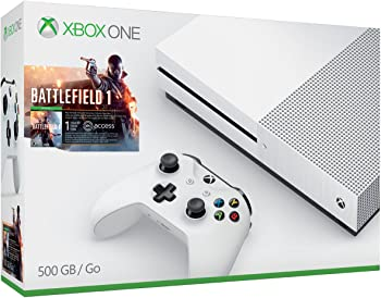 Special Offers on Xbox One S 500GB Console w/Battlefield 1