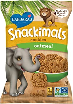 18-Pks. Barbaras Snackimals Oatmeal Cookies