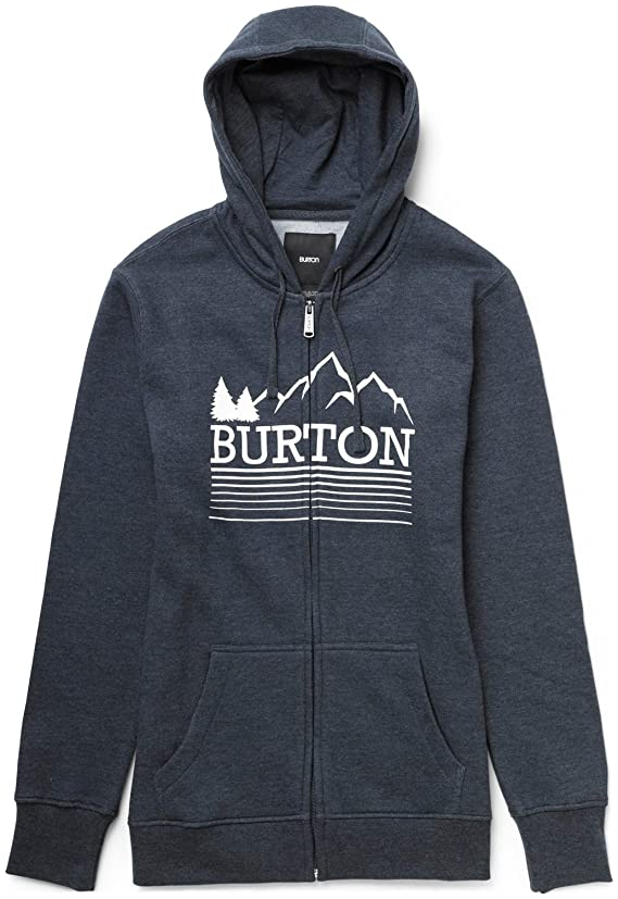 Burton Griswold Recycled Full-Zip Hoodie Heather Eclipse Womens
