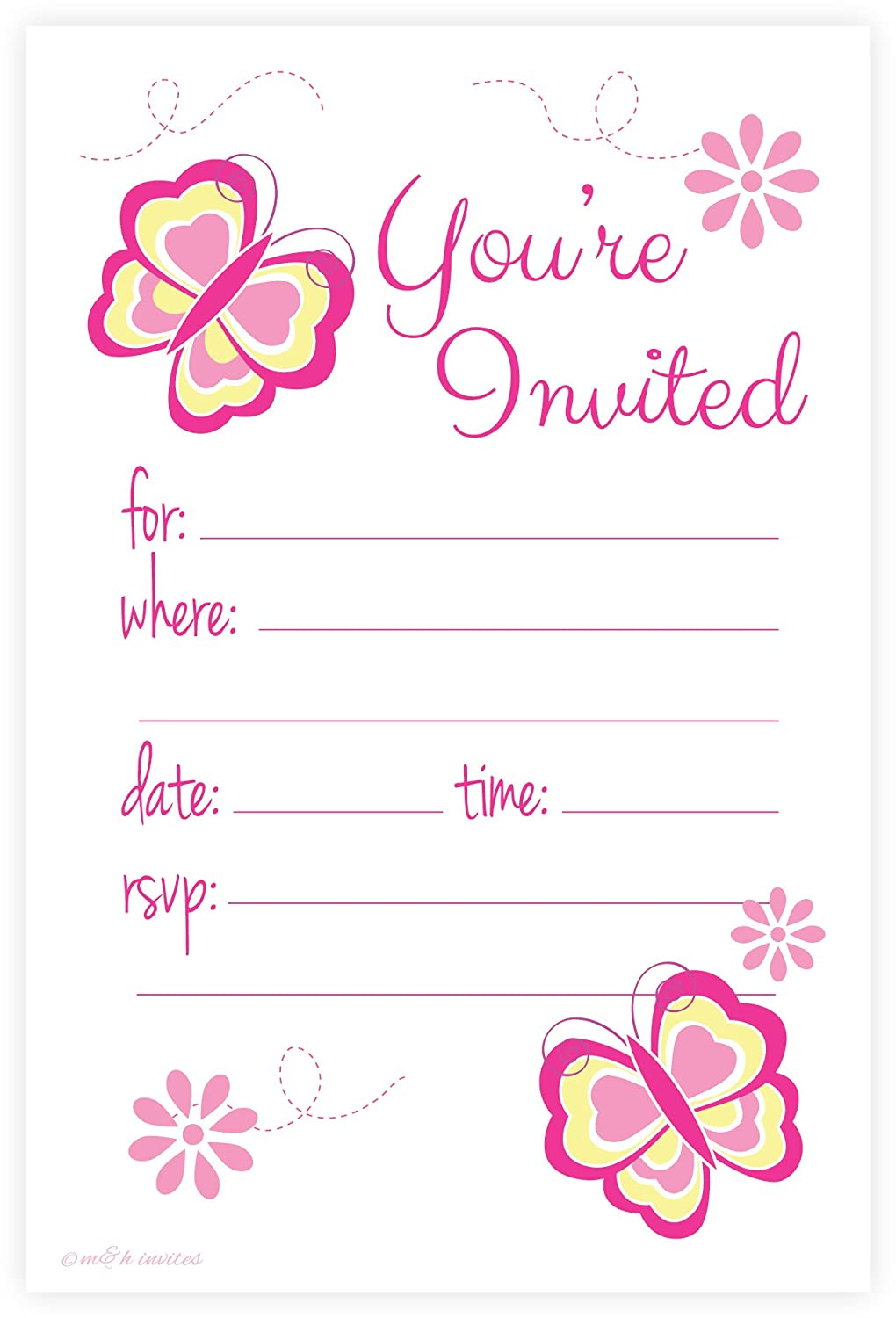 girl butterflies baby shower invitations baby shower mania