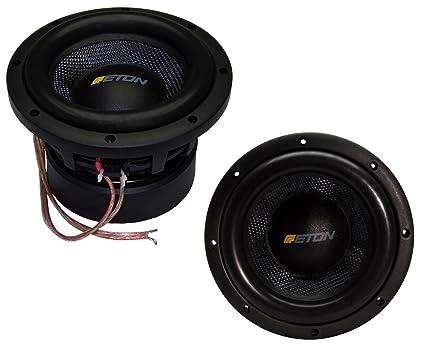 """ETON force f 8 20 cm (8 """")-sPL caisson de basses mini châssis 1000W parleur de basses pour voiture"""
