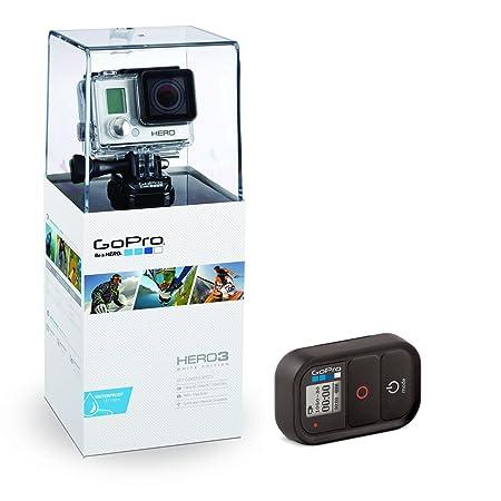 GoPro 3669-010 Hero3 WHITE Slim Edition Caméra embarquée avec kit de commande à distance
