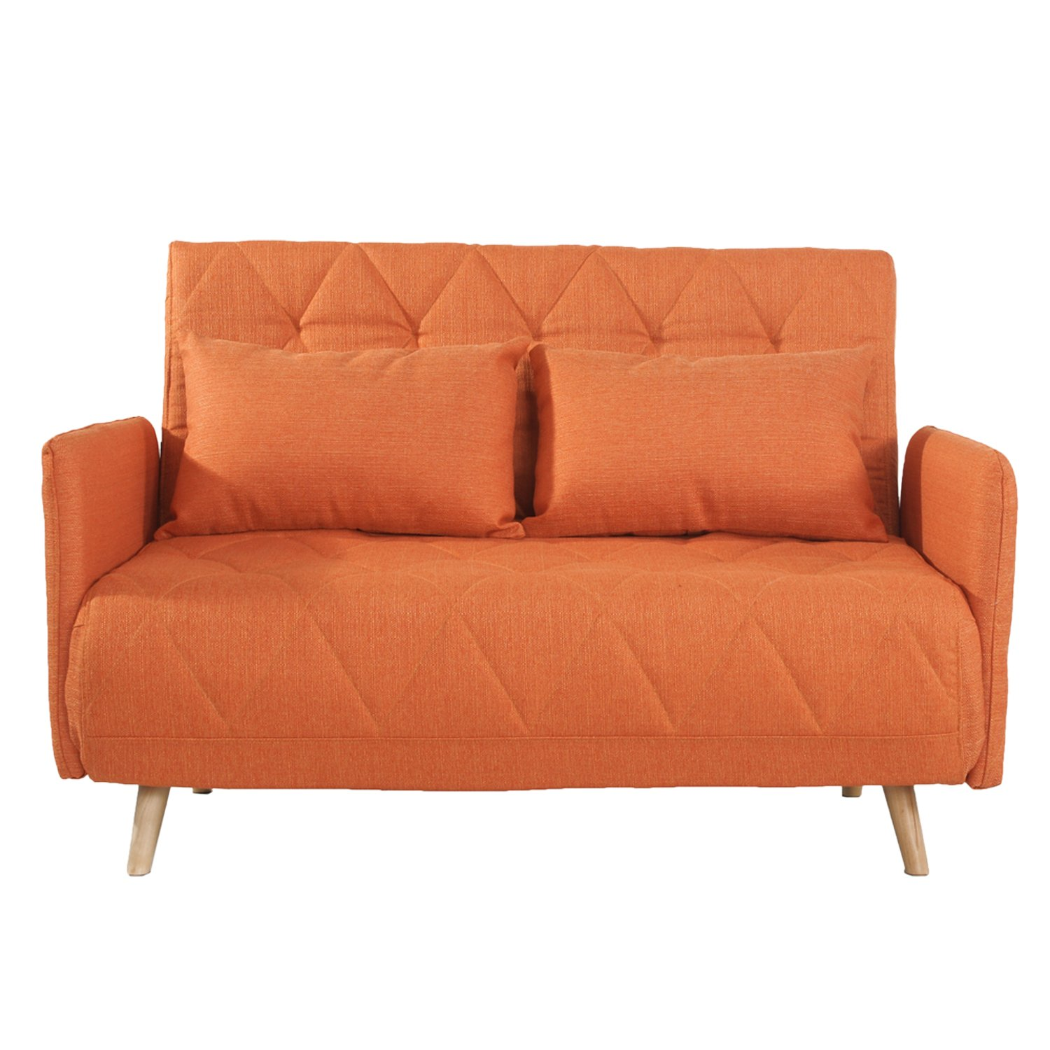 Joveco Fabric Tufted Sofa Bed