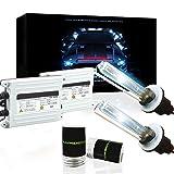 Lumenon 55W HID Xenon Conversion Kit with Premium Slim Ballast 2 Year Warranty (H1, 5000k Pure White) (Color: 5000k Pure White, Tamaño: H1)