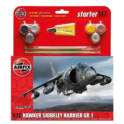 Airfix - AI55205 - Maquette - Hawker Harrier GR1 - Nouveau Moule