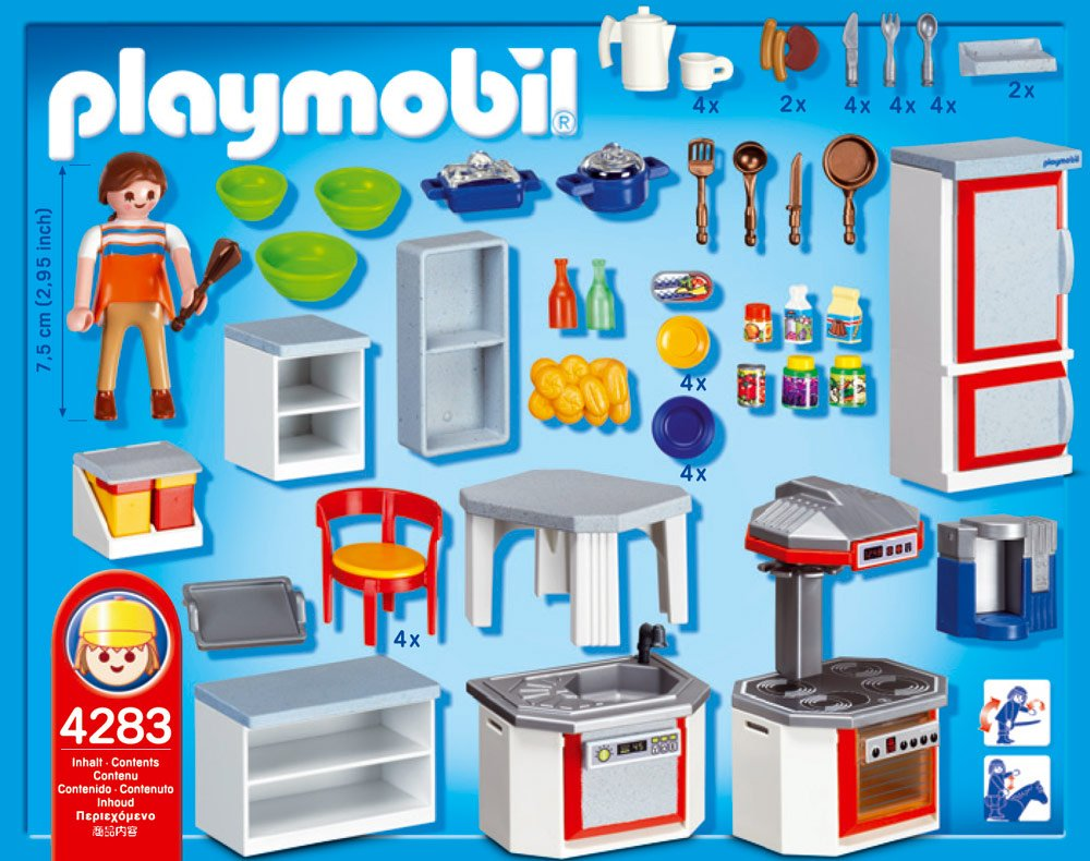 Playmobil 4283 sophia playmobil xuite for Playmobil cuisine 5329