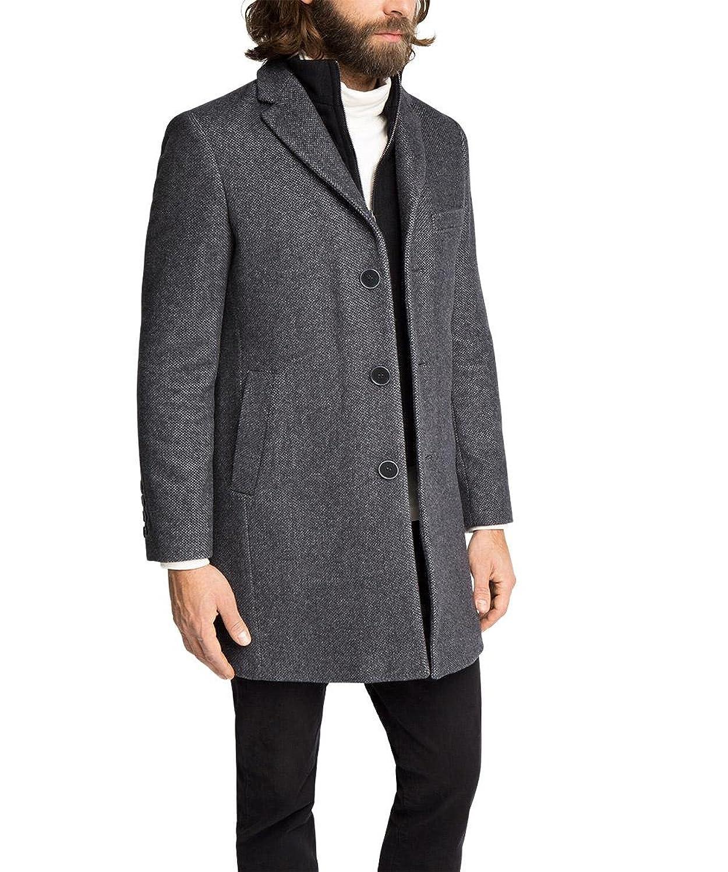 ESPRIT Collection Herren Mantel mit Westenfake jetzt kaufen