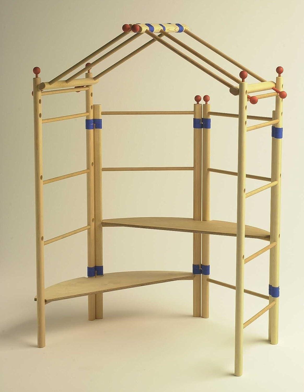 Spielhaus-Set Grundversion zur Erweiterung, variabler Einsatz aus Holz