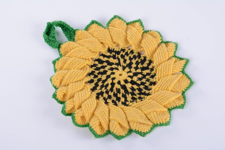 Pot Holder Sunflowers pot holder sunflowers