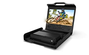 GAEMS Sentinel Pro Xp 1080P Portable Gaming Monitor for Xbox One X, Xbox One S, PlayStation 4 Pro, PlayStation 4, PS4 Slim, (Consoles Not Included) - PlayStation 4 (Color: Black)