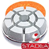 floor polisher pads polishing pad - Grit 200 By Stadea (Color: Pack of 1, Tamaño: Grit 200)