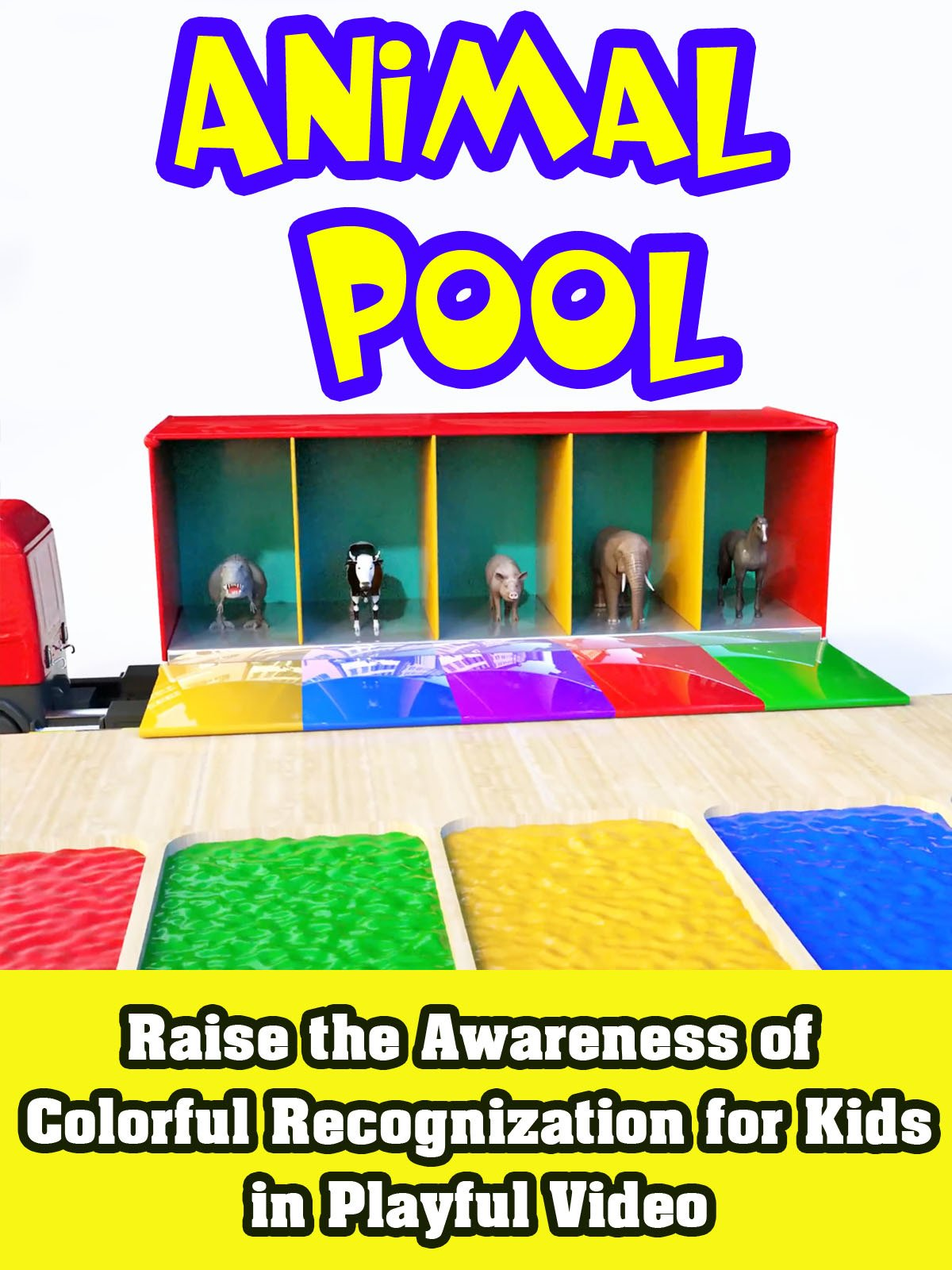 Raise the Awareness of Colorful Recognization for Kids in Playful Video