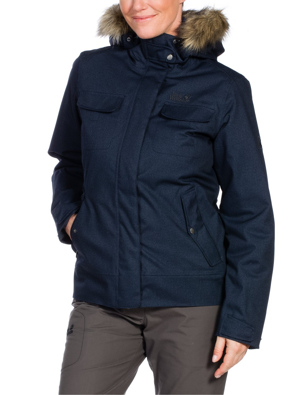 Jack Wolfskin Damen Jacke Wattiert Cypress Mountain Jacket