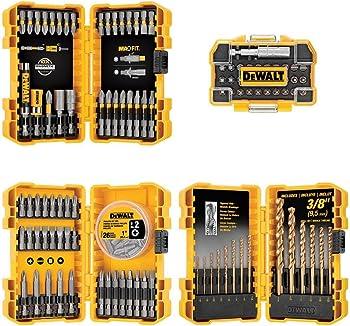 Dewalt Gold Ferrous Drill & Drive Bit Set