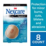 Nexcare Tegaderm Waterproof Transparent Dressing Amazon's Choice, From the #1 Hospital Brand, Protects Cuts, Minor Burns, Blisters and Post-Surgical Incisions, 2-3/8 Inches X 2-3/4 Inches, 8 Count