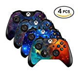 UUShop Vinyl Skin Sticker Decal Cover for Microsoft Xbox One Controller - Galaxy Starry - 4 differences style