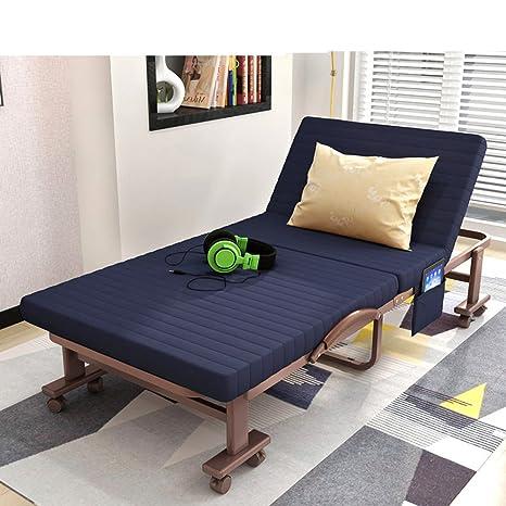 Lit Pliant/Sieste Unique/Lit Double/Lit Simple/Escort Bed/Lit De Camp/Déjeuner De Bureau-H