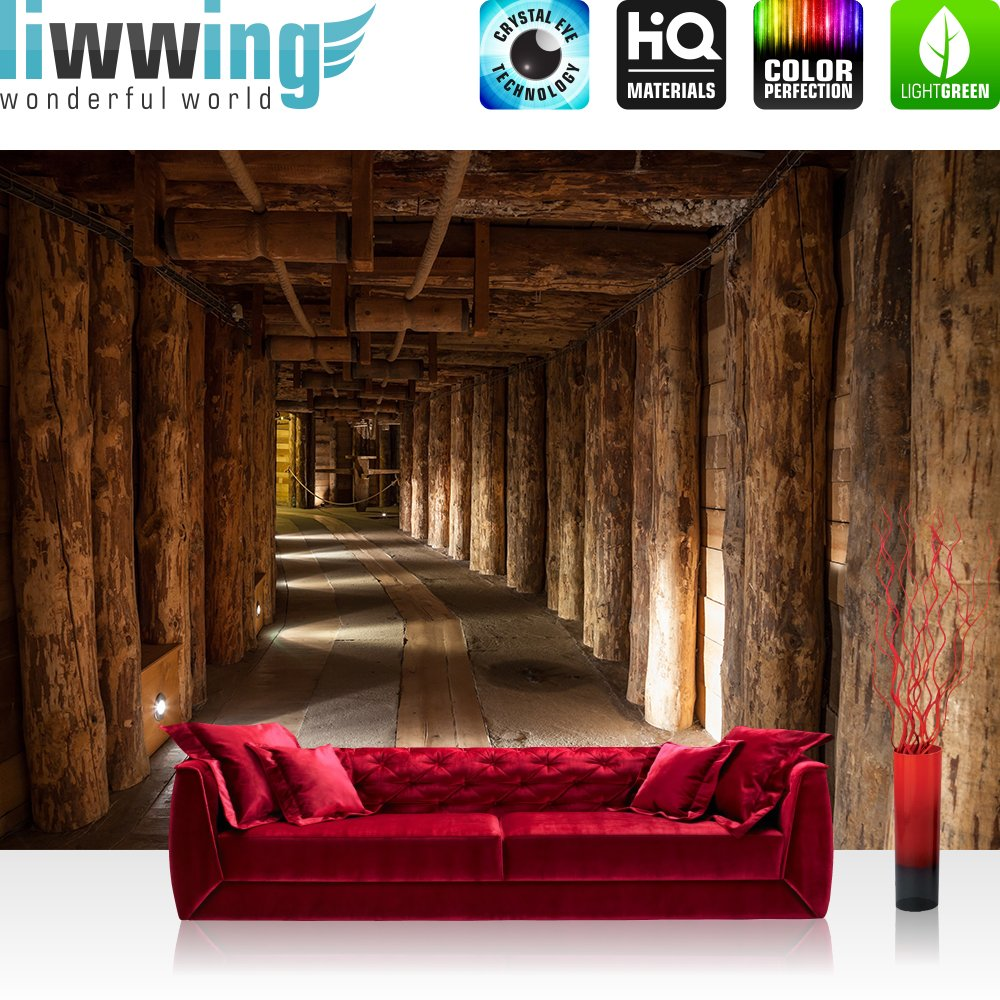 fototapete vlies premium plus 300x210cm salt mine by liwwing r vliestapete tapete tapeten. Black Bedroom Furniture Sets. Home Design Ideas
