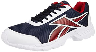 reebok tec encyst lp red running shoes