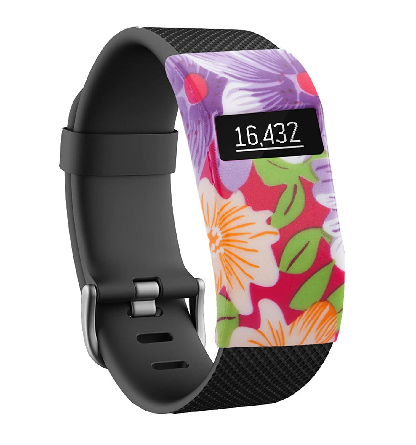 Moretek Band Cover for Fitbit Charge/Fitbit Charge HR Slim Designer Sleeve Protector accessories