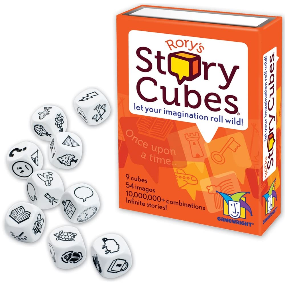 Rory's Story Cubes Storytelling Dice Game for Kids