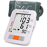 Blood Pressure Monitor, LotFancy Digital Sphygmomanometer, 180-Readings Upper Arm Medium Cuff (9-13